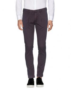 Повседневные брюки BARBATI. Цвет: баклажанный