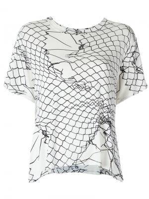 Printed blouse Uma | Raquel Davidowicz. Цвет: белый