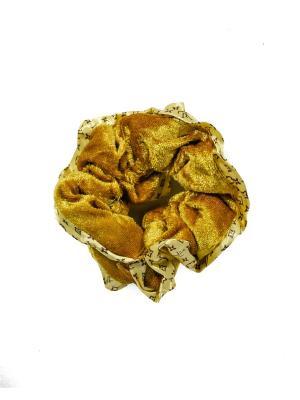 Резинка для волос Bizon. Цвет: бежевый
