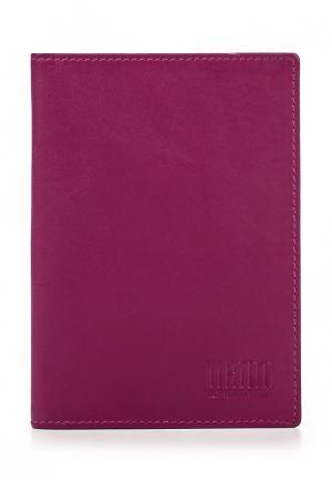 Обложка для документов Mano. Цвет: фиолетовый