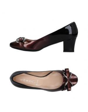 Туфли LORBAC. Цвет: темно-коричневый