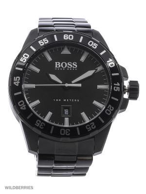 Часы HUGO BOSS. Цвет: черный