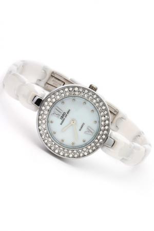 Часы на браслете IBSO. Цвет: серебро, белый
