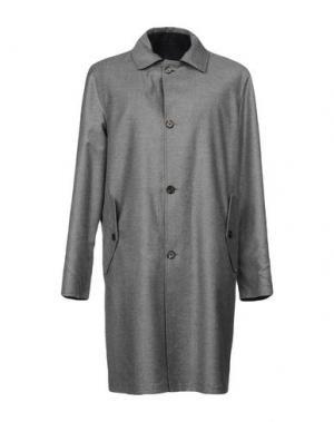 Пальто DUNHILL. Цвет: серый
