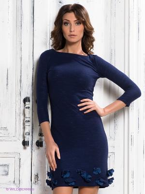 Платье Наталья Новикова. Цвет: темно-синий