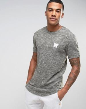 Good For Nothing Меланжевая футболка. Цвет: серый