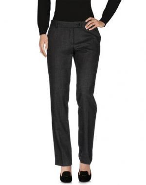 Повседневные брюки AMINA RUBINACCI. Цвет: стальной серый
