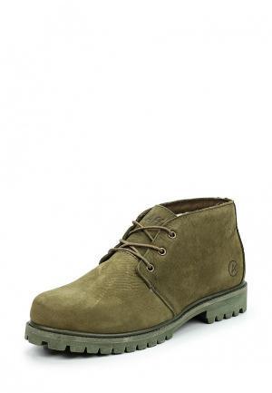 Ботинки Affex. Цвет: зеленый