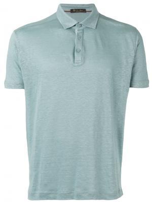 Classic polo shirt Loro Piana. Цвет: синий