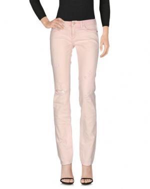 Джинсовые брюки KOCCA. Цвет: розовый