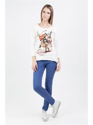 Блуза Brava Catalan. Цвет: белый