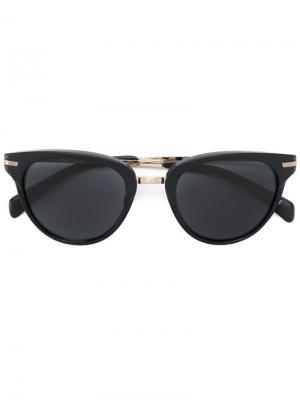 Солнцезащитные очки Jaron Paul Smith. Цвет: чёрный
