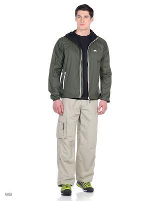 Куртка Trespass. Цвет: темно-зеленый
