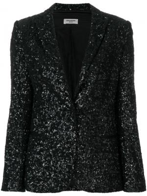 Пиджак Virginie Sequins Deluxe Zadig & Voltaire. Цвет: чёрный