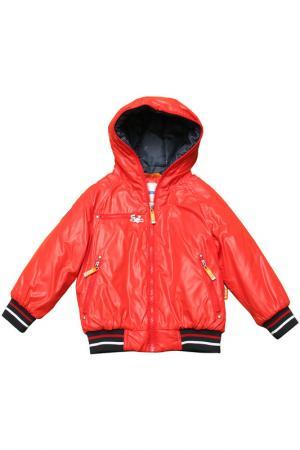 Куртка Nels. Цвет: 150_101/красный, синий