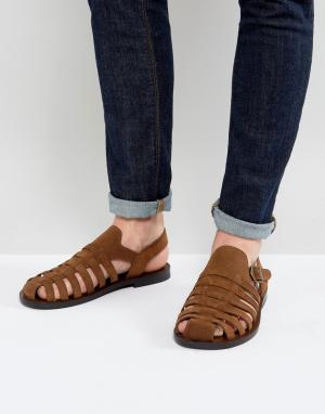 ALDO Плетеные сандалии Malvyn. Цвет: рыжий