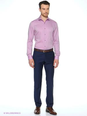 Рубашка Alfred Muller. Цвет: розовый
