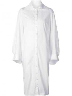 Платья Audra. Цвет: белый