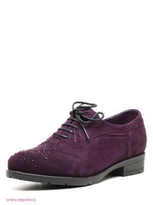 Ботинки Clotilde. Цвет: темно-фиолетовый