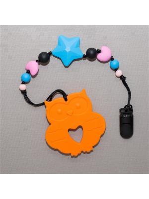 Игрушка-подвеска Краски лета. Цвет: черный, голубой, оранжевый, розовый