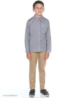 Рубашка JERRY JOY. Цвет: серо-голубой
