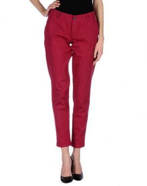 Повседневные брюки ANOTHER LABEL. Цвет: пурпурный