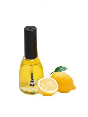 Масло для кутикулы Лимон 15 мл. Континент Красоты. Цвет: желтый