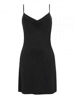 Ночная сорочка Trikozza. Цвет: черный
