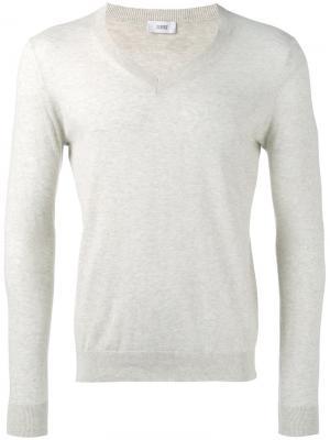 Пуловер с V-образным вырезом Closed. Цвет: телесный