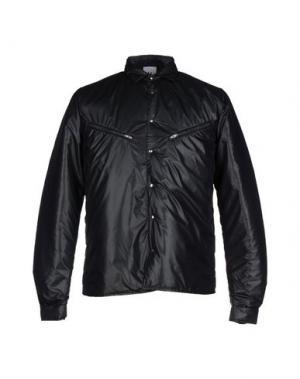 Куртка U CLOTHING. Цвет: темно-зеленый