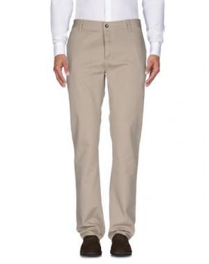 Повседневные брюки KR3W. Цвет: песочный