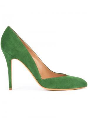 Туфли-лодочки Ebony Alexa Wagner. Цвет: зелёный