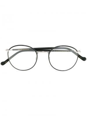 Очки Zev Moscot. Цвет: чёрный