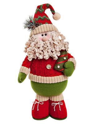 Мягкая игрушка Mister Christmas. Цвет: красный