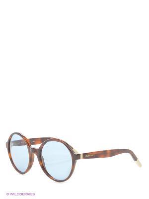 Солнцезащитные очки Tommy Hilfiger. Цвет: коричневый, голубой, рыжий