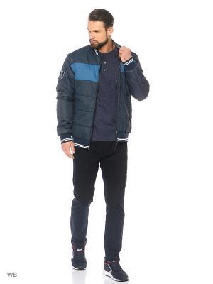 Куртка Stayer. Цвет: темно-синий, бирюзовый