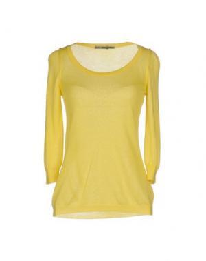 Свитер 5+1_ANNAPURNA. Цвет: желтый