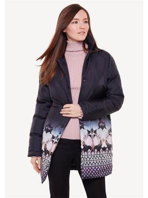 Пальто женское ZARINA. Цвет: черный
