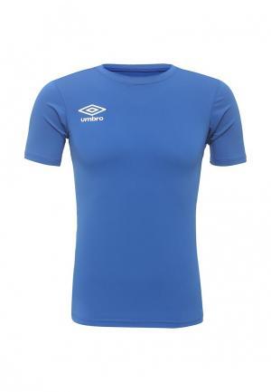 Футболка спортивная Umbro. Цвет: синий