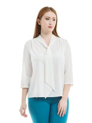 Блузка xLady. Цвет: молочный