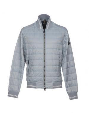 Куртка ADHOC. Цвет: светло-серый