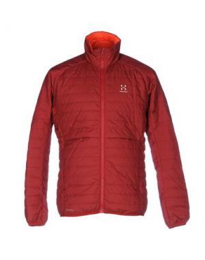 Куртка HAGLÖFS. Цвет: красно-коричневый