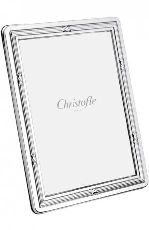 Рамка для фото Rubans Christofle. Цвет: бесцветный