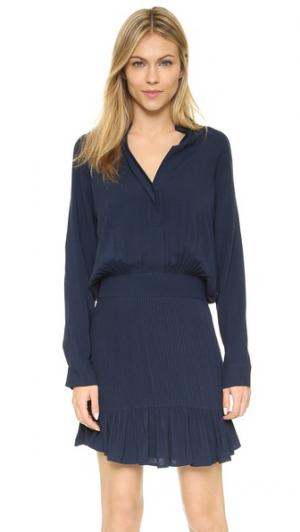 Платье Exhale Flannel Australia. Цвет: деним