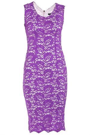 Платье Elisa Fanti. Цвет: сиреневый