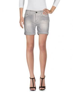 Джинсовые шорты CAMOUFLAGE AR AND J.. Цвет: серый