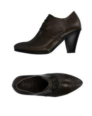 Обувь на шнурках LILIMILL. Цвет: зеленый-милитари