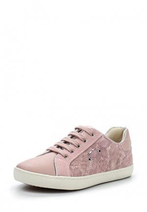 Кеды Geox. Цвет: розовый