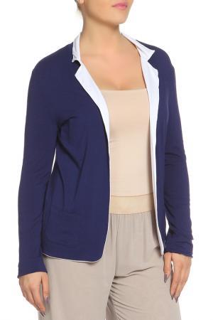 Пиджак Choice. Цвет: белый, темно-синий