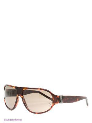 Солнцезащитные очки  MB 277S 54J Montblanc. Цвет: коричневый
